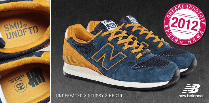 new balance x stussy x undefeated x hectic